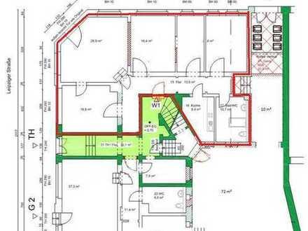 Große 5 Raum Altbauwohnung + Badewanne + Dusche