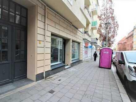 Prenzlauer Berg: Pasteurstraße: Einzelhandels-/ Bürofläche im Bötzowkiez, ca. 84 m² per SOFORT