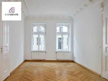 PROVISIONSFREI & FRISCH RENOVIERT: Lichtdurchfluteter Altbautraum im Waldstraßenviertel
