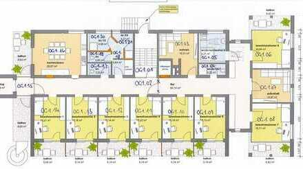 schöne(s) WG-Zimmer mit Balkon in inklusiver WG zu vermieten