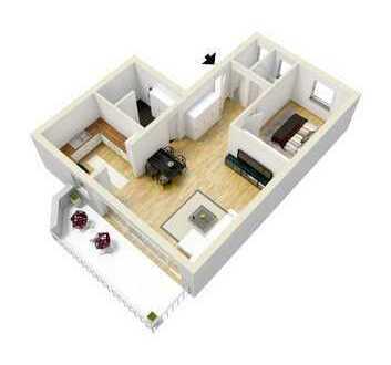 Wohnung in Zentrumslage - WHG 09