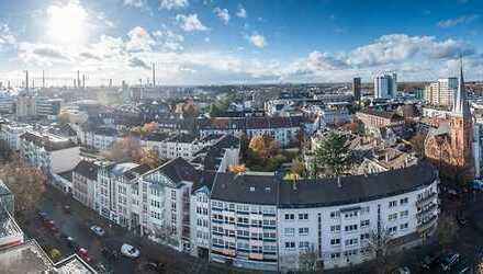 Helle Wohnung mit zwei Balkonen zentral in Lev-Wiesdorf