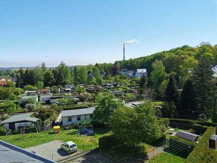 Wohnen im Grünen-Schöne 2-Raumwohn. mit Balkon und Stellplatz am Küchwald-auf Wunsch mit Küche