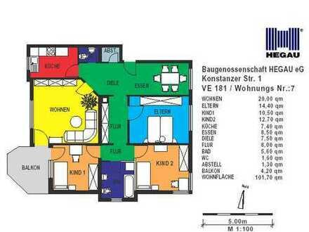keine Scheu vorm Treppensteigen?! 4-Zimmer-Wohnung in Singen-Süd