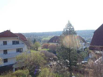 Helle 1-Zimmerwohnung mit Balkon und Weitblick in idyllischer Lage von Höckendorf