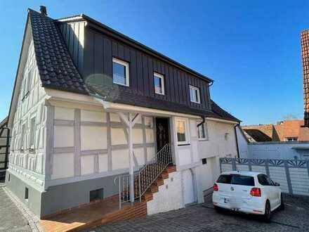 5,5 Zimmer Fachwerk - Doppelhaushälfte mit Gartenmitbenutzung und Garage