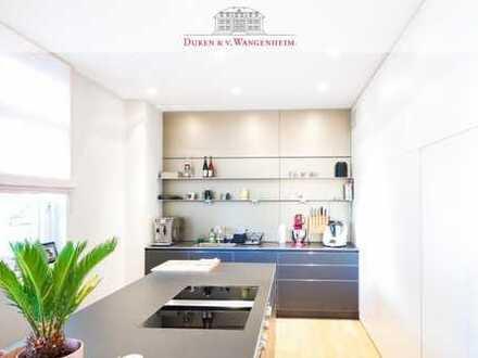Luxuriöse 5-Zimmer-Wohnung direkt am Englischen Garten und am Eisbach gelegen