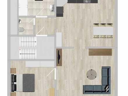 Erstbezug nach Sanierung: freundliche 2-Zimmer-Wohnung mit Einbauküche in Reutlingen