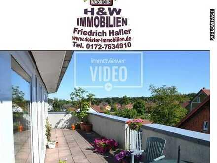 !!TOP!! Penthouse mit 2 Dachterrassen/ Zentrum/ Panoramablick/Zum fairen Preis