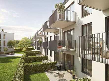 1-Zimmer-Wohnung mit Süd-/Westbalkon und Einbauküche - Neubau - Erstbezug WE52