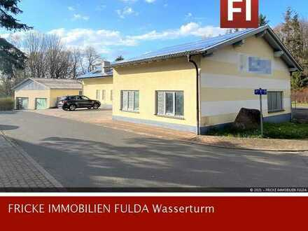 Werkstatt / Lager- und Bürogebäude 4km zur A7!!!