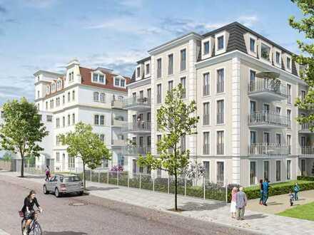 Schicke 3-Raum Wohnung im Erstbezug in Striesen