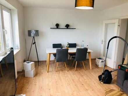 *Rheinblick* 2 Zimmer-Wohnung möbliert inkl. W-Lan & TV & Strom