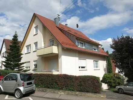 renovierte, helle 2-Zimmer-Wohnung mit Terrasse in ruhiger Lage