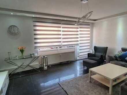 Exklusive, modernisierte 4-Zimmer-Wohnung mit Balkon und Einbauküche in Bingen