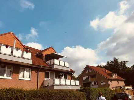 Gepflegte 3-Zimmer-Maisonette-Wohnung mit Balkon und Einbauküche in Münster