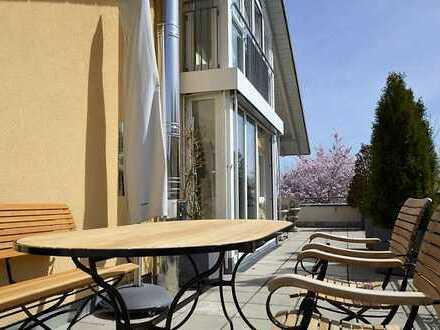 Attraktive Dachterrassenwohnung mit Maisonette, ruhige Lage in See- und Stadtnähe von Starnberg