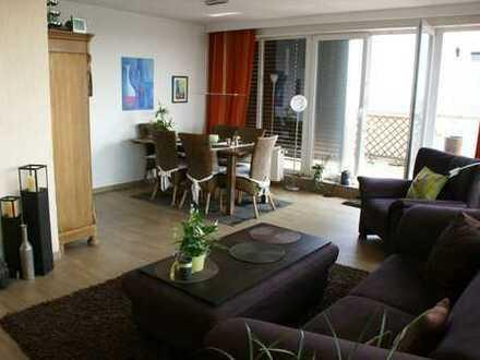 Gepflegte 5-Zimmer-Penthouse-Wohnung mit 65 qm Dachterrasse über den Dächern von Herten