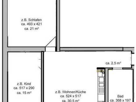 Exklusive sehr helle ruhige Drei-Zimmer-Wohnung in Blumberg bei Berlin