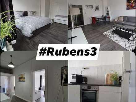umfangreich möblierte Wohnung zu vermieten - 2 Zimmer