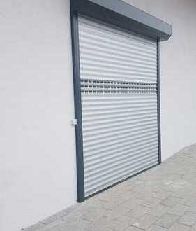 Große Garage/ kleine Halle mit Starkstrom und Rolltor zu vermieten in Auggen!