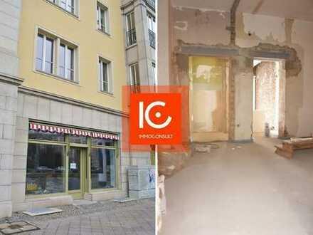 Erstbezug nach Sanierung: Büro/Gewerbefläche ca. 107 m² in Leipzig Zentrum-Südost