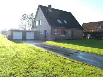 Oberwohnung mit Garage in Wittmund/Burhafe