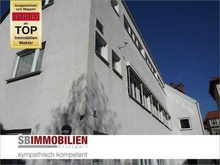 Vielseitig nutzbares Wohn- u. Geschäftshaus mit ca. 370 qm Lagerfläche in Top-Lage von Stuttgart-Süd