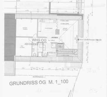 3-Zimmer-DG-Wohnung mit EBK in Scheinfeld