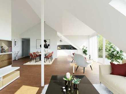 Mit Weitblick: traumhafte 3-Zimmer-DG-Wohnung in attraktivem Neubau