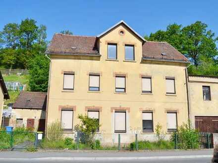 Mehrfamilienhaus mit einem großen Potential in Neukirchen/Pleiße