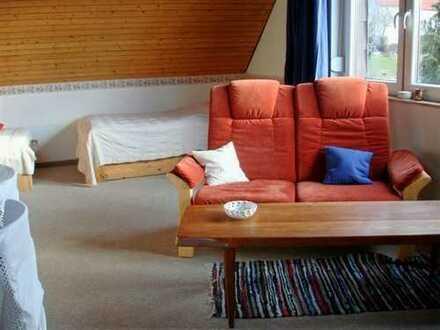 Online buchbar, ab 1 Monat: 1-Zimmerwohnung, löffelfertig möbliert inkl. Wlan, TV, Du/Wc, Küche,