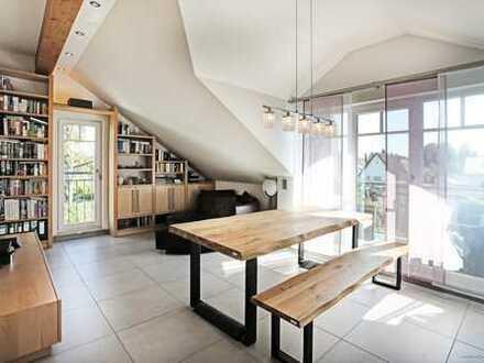 Forstenried- 3-Zimmer-Dachgeschosswohnung, Südbalkon, Tiefgarageneinzelplatz in idyllischer Wohnlage