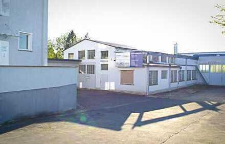 Halle mit Wohnhaus in Top-Lage von Limburg