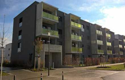 Moderne, neuwertige 2-Zimmer-Wohnung mit Westbalkon im Herzen des Rötelheimparks