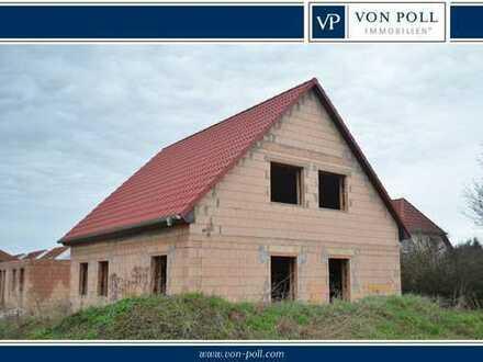 Provisionsfreier Einfamilienhaus-Rohbau zwischen der A2 und Brandenburg an der Havel