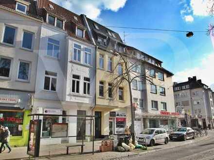 VON POLL COMMERCIAL: Sehr gepflegtes Ladenlokal für Büro oder Einzelhandel in 1A Lage / Hemmstraße i