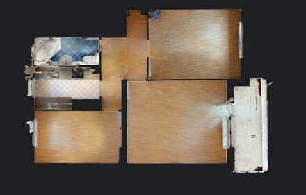 Vollständig modernisiertes 3 Zimmer-Apartment in Britz. Bezugsfrei!