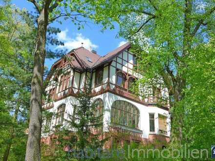 Juwel direkt an der Rehwiese, in sanierter Villa: exklusives Gartengeschoss mit modernem Ambiente!