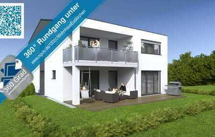 Reserviert - Neubau großzügige 119 m² 4 Zimmer Erdgeschoss-Eigentumswohnung in Zweifamilienhaus