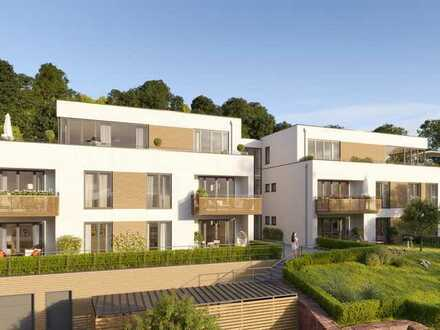 Wohnen am Weinberg 4-Zimmer Wohnung 1.0.2 mit Gartenanteil