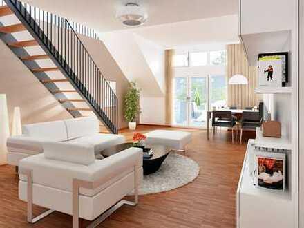 Bad Kreuznach-Süd, Ruhe und Blick in geräumiger, exclusiv ausgestatteter Maisonettewohnung