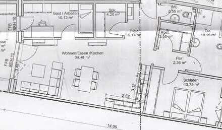 Neuwertige 3-Zimmer-Erdgeschosswohnung mit Balkon und EBK in Sehnde