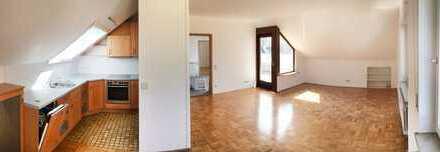 Ruhige Mieter für sonnige DG Terassen-Wohnung mit traumhaftem Ausblick in ruhiger Lage gesucht