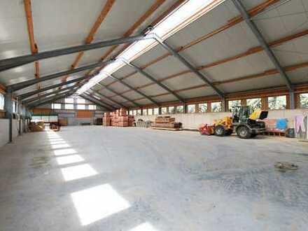 Stützenfreie Lagerhalle zu vermieten