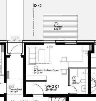 Ruhiges Appartement mit Gartenzugang im Steingauquartier