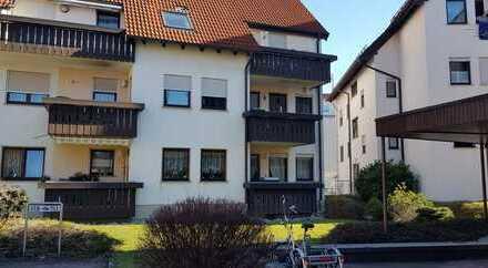 2,5-Zimmer-EG-Wohnung mit Balkon und Einbauküche in Donzdorf