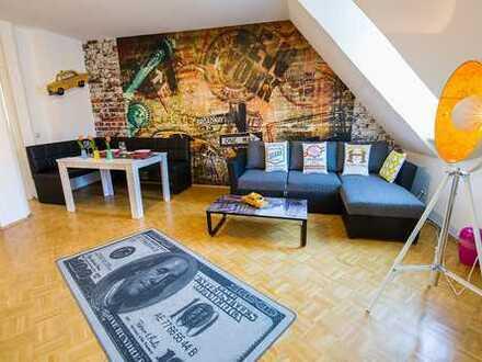 Vollausgestattete, moderne Ferienwohnung (43 qm) mitten in der Koblenzer Altstadt ab EUR 56,-/Tag