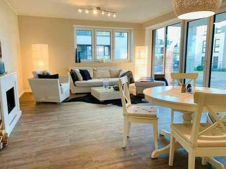 Musterwohnung mit gehobener Ausstattung inkl. Küche und Designbelag-Böden