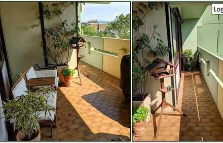 Gepflegte 3-Zimmer-Wohnung mit großzügiger Loggia und EBK in Hochheim am Main